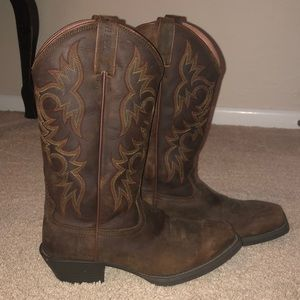 "Justin stampede square toe 13"" boots"